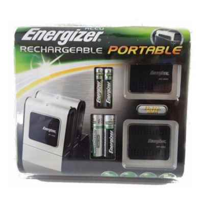 ENERGIZER PORTABLE CHARGER INCLUDES 2 AA 2500