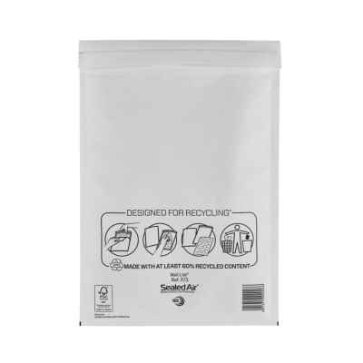 MAIL LITE F/3 WHITE PADDED ENVELOPE (220x330)