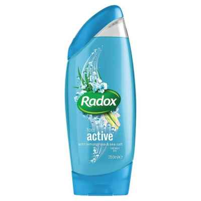 RADOX SHOWER GEL  ACTIVE 250ML X 6