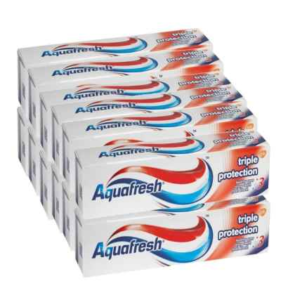 AQUAFRESH FRESH & MINTY 125ML X 12