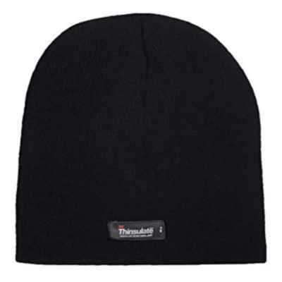 HAT THERMAL BLACK BOYS PACK OF 12