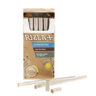 RIZLA NATURA ULTRA SLIM FILTER TIPS 20S