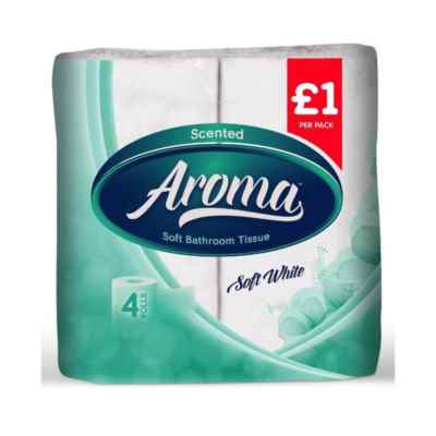 AROMA PERFUMED T/T 2PLY 4 ROLL X 10 WHITE PM?