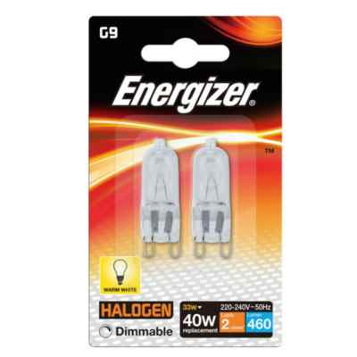 ENERGIZER ECO G9 CAPSULE 33W(40W) DIMMABLE 2P