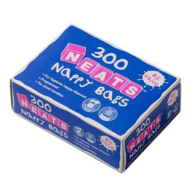 NAPPY BAGS FRAGRANCED 300 PER BOX
