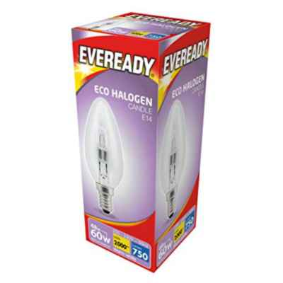 CANDLE E14/SES BULB 48W (60W)  ECO HALOGEN