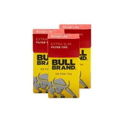 BULLBRAND EXTRA SLIM POP-OUT TIPS 126S X 20