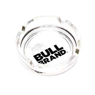 BULLBRAND GLASS ASH TRAY