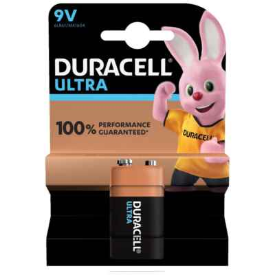 DURACELL 9V - MN1604 ULTRA POWER 1 PACK