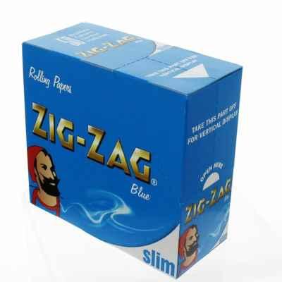 ZIG ZAG BLUE K/S 50S