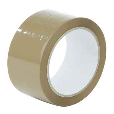 PARCEL (BUFF/CLEAR) TAPE 2 INCH 66M x 6