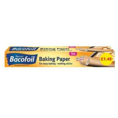 BACOFOIL NON STICK BAKING PAPER 380MM x 5M PM