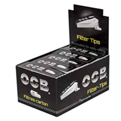 OCB CARDBOARD FILTERS 50S X 25
