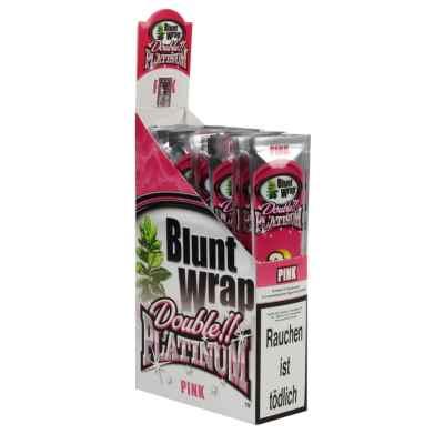 PLATINUM BLUNTS BUBBLE GUM PINK 2S X 25