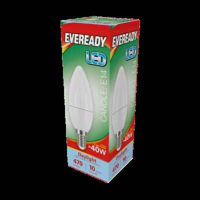 EVEREADY LED CANDLE 5.2W E14  DAYLIGHT