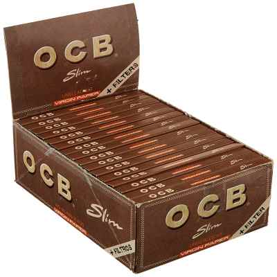 OCB VIRGIN CONNOISSEUR KS PAPER + TIPS X 32