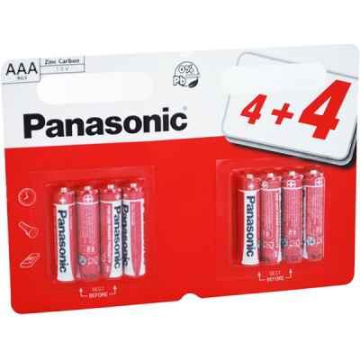 PANASONIC ZINC AAA - R03 8 PACK