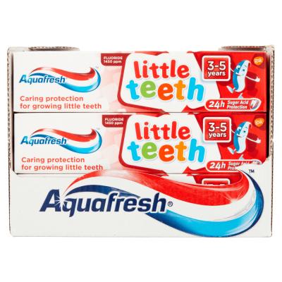 AQUAFRESH LITTLE TEETH TOOTHPASTE 50ML X 12