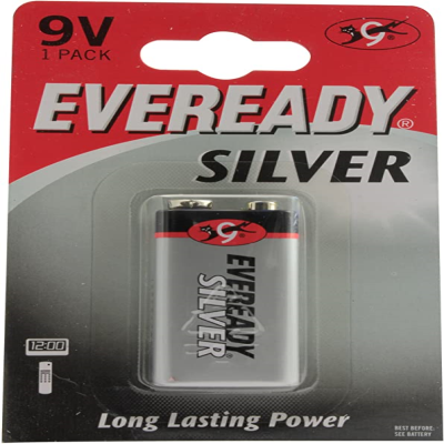 EVEREADY SILVER 9V - 6F22 1 PACK