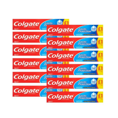 COLGATE CAVITY & PROT 75ML X 12 PM1