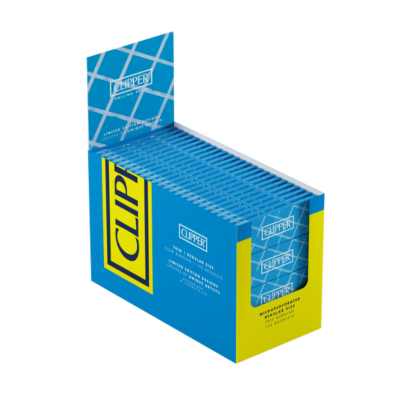 CLIPPER BLUE STD THIN PAPER 100S