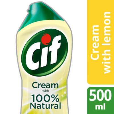 CIF CREAM LEMON 500ML X 16