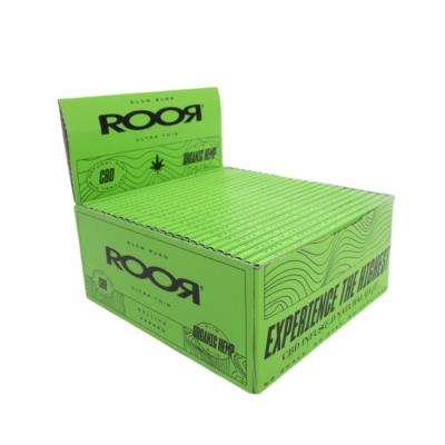 ROOR CBD ORGANIC HEMP SLIM PAPERS 50S