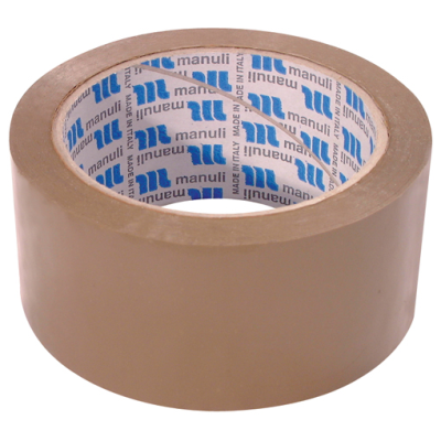 MANULI BROWN TAPE 48MM X 66M  6 PACK