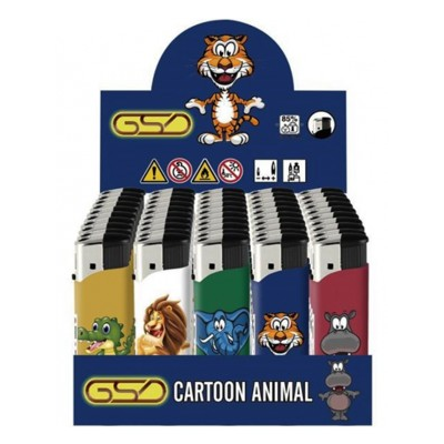 GSD ELECTRONIC LIGHTER CARTOON ANIMAL DESIGN