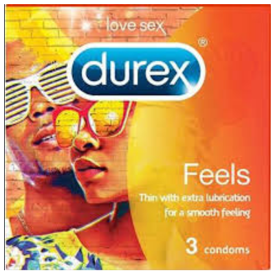 DUREX FEELS 3'S X 12
