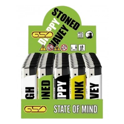 GSD ELECTRONIC LIGHTER STATE OF MIND DESIGN 5
