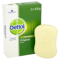 DETTOL SOAP ANTIBACTERIAL 100G 2PK X 6