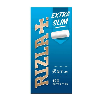 RIZLA EXTRA SLIM FILTER TIPS 20S