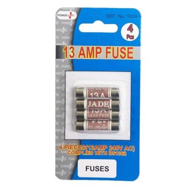 FUSES 4S BLISTERED 13 AMP